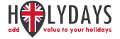 Logo Holydays add value to your holidays